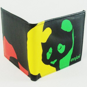 Cartera Enjoi Rasta black