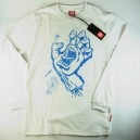 Camiseta SantaCruz Sketchy Hand white