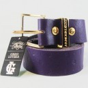 Cinturón Armourdillo Lutzka Monogram Leather purple