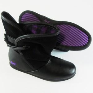 Botas DVS Siloh purple/black