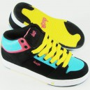 Zapas DVS Gracie Mid black/yellow suede