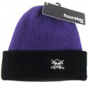 Gorro Fourstar Two Tone Pirate purple/black