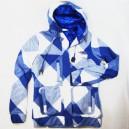 Cazadora Matix Winters Love white/blue