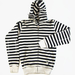 Sudadera Fallen Cobra Striped black/white S