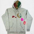 Sudadera Enjoi Patch Work grey/rasta