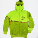 Sudadera Etnies Monster High green