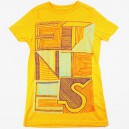 Camiseta Etnies Forever Young mustard