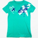 Camiseta Etnies Fly Away basic green