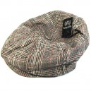 Sombrero Brixton Brood brown plaid S