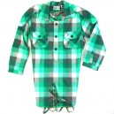 Camisa WeSC Karolin green plaid