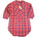 Camisa Loreak Mendian 3/4 Free Iver red XS