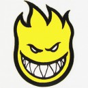 Parche Spitfire BigHead yellow