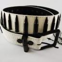 Cinturón Armourdillo Loaded black/white