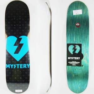 Tabla Mystery Heart blue 7.875''