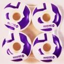 Ruedas Imagine Imalogo purple 55mm 99a