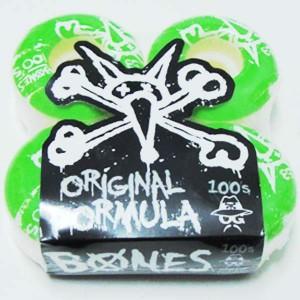 Ruedas Bones 100's naturals 53mm 100a