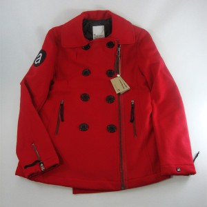 Abrigo Loreak Mendian Dummy Wool red