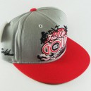 Gorra GoldWheels Starter grey/red talla única
