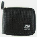 Cartera Armourdillo Surplus Knurl Zipper black